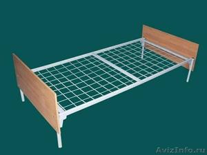 кровати двухъярусные, кровати металлические одноярусные для строителей и турбаз - Изображение #5, Объявление #695641