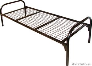 кровати двухъярусные, кровати металлические одноярусные для строителей и турбаз - Изображение #2, Объявление #695641
