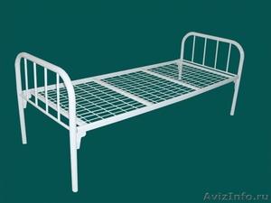 кровати двухъярусные, кровати металлические одноярусные для строителей и турбаз - Изображение #1, Объявление #695641