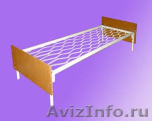 кровати металлические, кровати для больницы, одноярусные кровати - Изображение #2, Объявление #899167