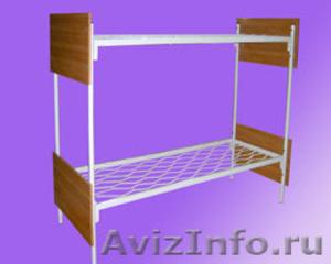 кровати металлические, кровати для больницы, одноярусные кровати - Изображение #3, Объявление #899167