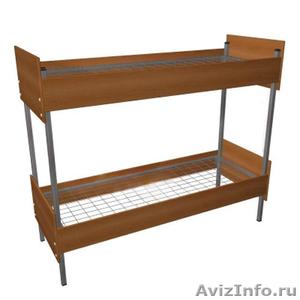 Кровати металлические для времянок, кровати для бытовок, кровати по низкой цене - Изображение #1, Объявление #1478957
