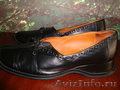 Продам женские демисизонные кожанные туфли черные,  размер 37 Тверь