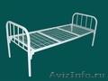 кровати двухъярусные,  кровати металлические одноярусные для строителей и турбаз