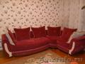 угловой диван с креслои