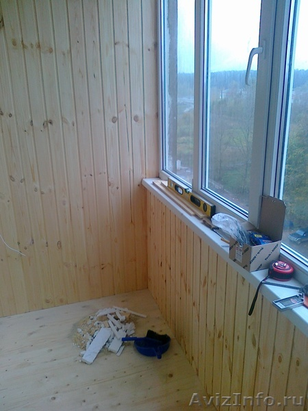 Отделка балконов и лоджий в твери, предлагаю, услуги, строит.