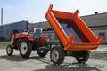 Прицеп тракторный самосвальный Уралец 1 тонна