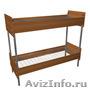 Кровати металлические для времянок, кровати для бытовок, кровати по низкой цене, Объявление #1478957