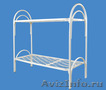 Кровати металлические для времянок, кровати для бытовок, кровати по низкой цене - Изображение #2, Объявление #1478957